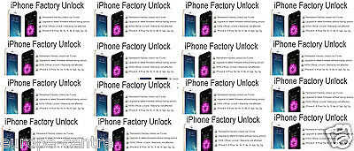 EE & O2 UK iPhone SE 6S 6 Plus 6 5C 5S 4S Official Carphone Warehouse Unlock CPW