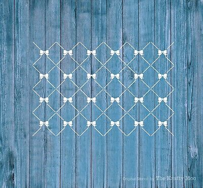 Stencil Mylar Reusable Shabby Chic Vintage Fabric Furniture Wall Art Airbrush 02