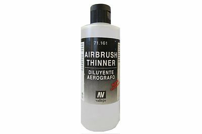 VALLEJO 71.161 Diluant Aérographe - Airbrush Thinner 200ml