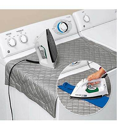 Iron Anywhere Mat Portable Compact Travel Dryer Washer Mattress Clothes Ironing