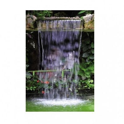 Ubbink Waterfall Kit Niagara LED incl. Pump and Basin, fully wired