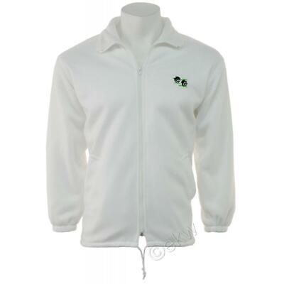 Bowls Unisex Polar Fleece Zip Jacket with Logo | Lawn Bowling