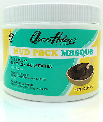 Queen Helene Mud Pack Masque Anti-Aging 12 Oz Jar