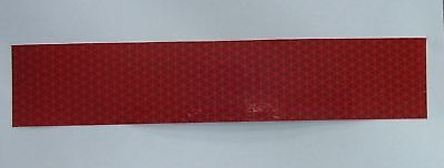 "Red Reflective Reflexite V92 Tape 1/2"" wide x 10 ft long"