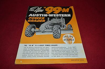 Austin Western 99M Power Grader Dealer's Brochure DCPA4