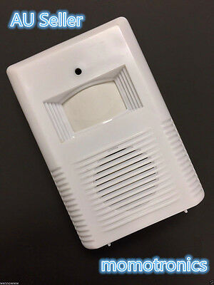 New Wireless Shop Store Entry Visitor Door Bell Chime Welcome Motion Sensor