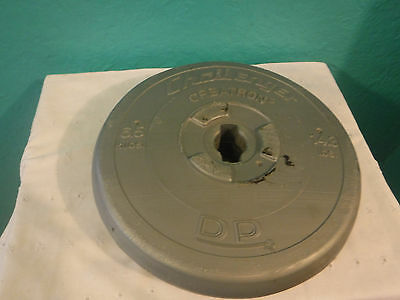 Challenger Orbatron DP 14.3 lbs Pound 6. Kilos Dumbell Weight Set Silver Weights