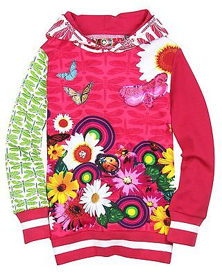 Desigual Girls Hooded Sweatshirt Andersen, Sizes 5-14