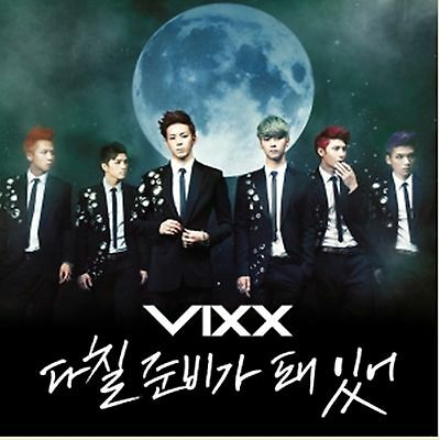 K-POP VIXX 3rd Single Album [On and On] CD + Booklet Sealed