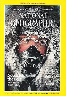 National Géographic(EN)Vol.170 NO.3 September 1986 North To The Pole,...