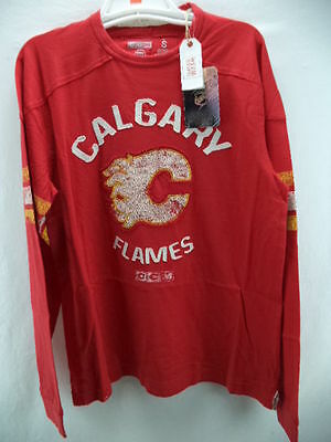 NHL Calgary Flames Longsleeve Ice Hockey Shirt Jersey Top