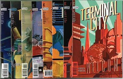 DC Vertigo - TERMINAL CITY - 8 Issues # 1,2,3,4,5,6,8,9 - MATURE READERS (A148)