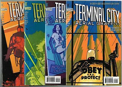 DC Vertigo - TERMINAL CITY - 4 Issues # 1,2,4,5 - MATURE READERS (A149)