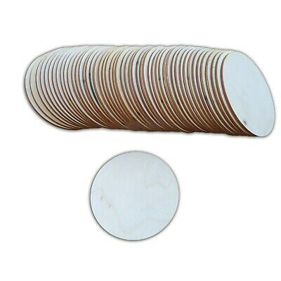 Set of 50 Round Coasters for DECOUPAGE