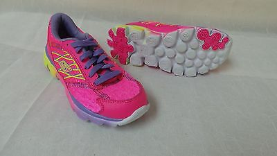 New! Skechers Girls (PS) Go Run Ride 2 Running Shoes-Style 80686L 109P kl
