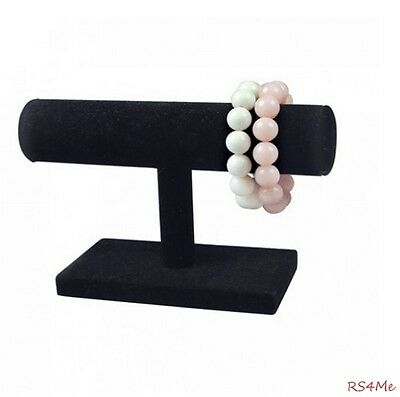Jewelry Display Black T Bar for Bracelet Chains NEW Necklace T-Bar