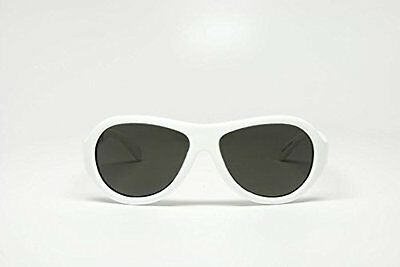 Babiators Unisex-Baby Infant Wicked Junior Sunglasses, White, Small