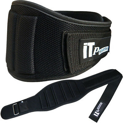 Weight Lifting Belt Body Building Gym Exercise Back Support MESH Belt (464)