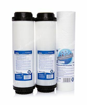 Set Of 2 X Activated Carbon•5 Micron Filter•reverse Osmosis System•replacement•