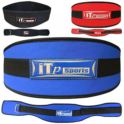 "Neoprene Weight Lifting Belt Gym Back Support Body Building Belt 6.5"" WIDE"