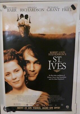St. Ives 27X40 Used Rolled Movie Theater Poster