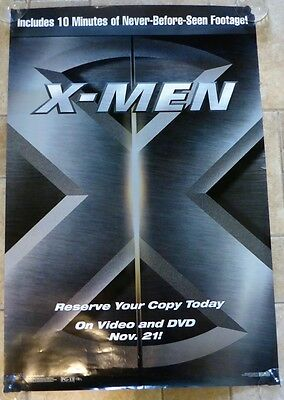 X-Men Get Your Copy Rolled Movie Theater Poster