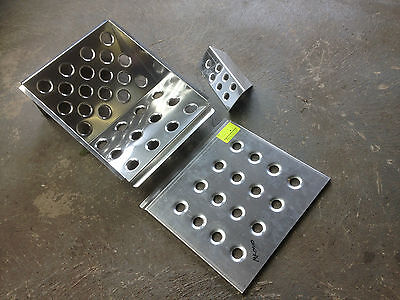 alloy foot rest & plate set, race rally Mk1 Mk2 Escort BMW RS AVO works