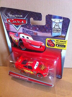 DISNEY CARS DIECAST - Lightning McQueen 2016 Card - Combined Postage
