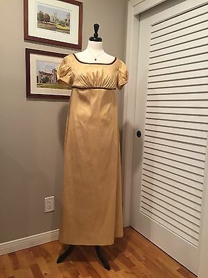 Jane Austen Regency Gown by Iblamejanetoo - dress size 6