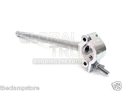 """Global Truss Clamp Post Heavy Duty 18"""" Post for 2""""(50mm) Truss 1100 lb rating"""