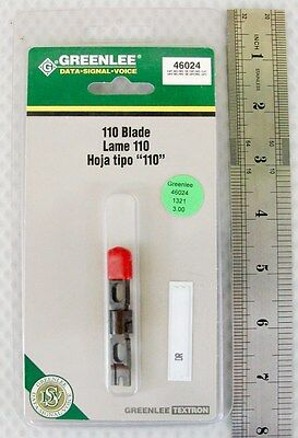 Greenlee Textron 110 Punch Down Tool Blade 46024 New!