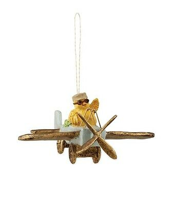 """Bethany Lowe """"Amelia Egghart Ornament"""" Chick in Airplane Ornament (TD5011)"""