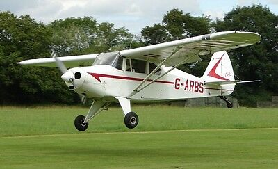 PA-22 TRI-PACER PIPER Colt Pacer PA22 Airplane Wood Model