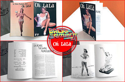 BACK TO THE FUTURE - Prop - Oh Làlà Magazine from Biff including 8 pages - BTTF