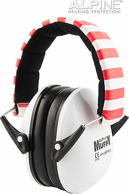 Alpine Hearing Protection  EarMuffy - Ear Defenders / Protectors for Kids  White
