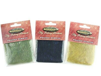Hemingway's Peacock Dubbing / Fly tying moscas material