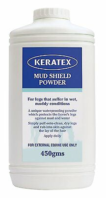 Keratex Mud Shield Powder 450g for Horses Care and First Aid