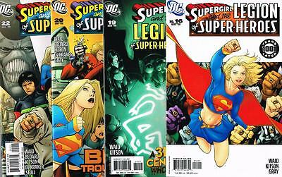 4 issues - Supergirl & the legion of Super-Heroes # 16,19,20,22 - 2006 - (1381)