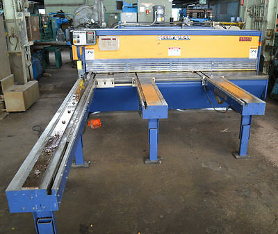 "10' x 10 GA ACCURSHEAR ""63510"" CNC HYDRAULIC POWER SQUARING SHEAR - #27719"