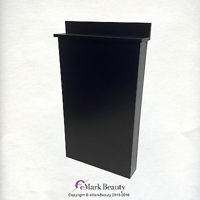 Beauty Salon Black Floor Cabinet for Shampoo Salon Spa Quality BC38