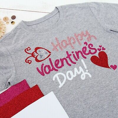"Glitter Heat Transfer Vinyl By The Yard 20"" Wide Easy Weed 41 Colors - Threadart"