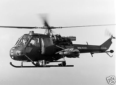 Royal Navy Marines Sea Scout Helicopter  7x5 Inch Reprint Photo
