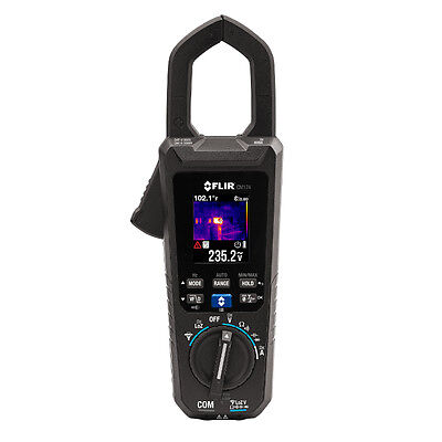 Flir CM174 600A AC/DC Thermal Imaging Clamp Meter with IGM Technology