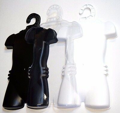 10 Child Kids Size Torso Plastic Body Dress Form Mannequin Hanger Display