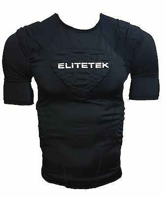 EliteTek Padded Compression Shirt CPS14 Youth and Adult Sizes