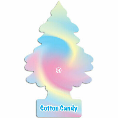 New Little Trees Air Freshener -COTTON CANDY FRAGRANCE  - Car Home Truck