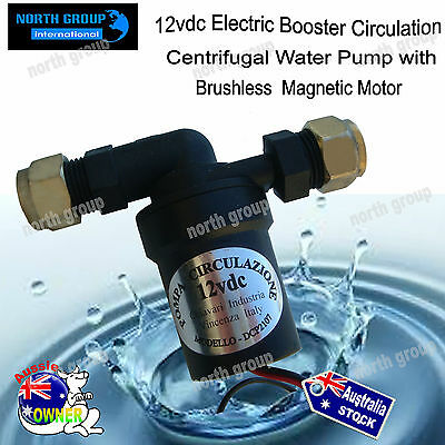 12vdc Electric Booster Circulation Centrifugal Water 12v Pump Brushless Magnetic