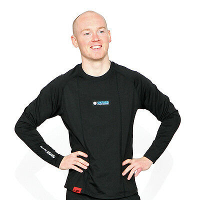 Oxford Warm Dry Long Sleeve Top Moto Motorcycle Thermal Base Layers   All Sizes