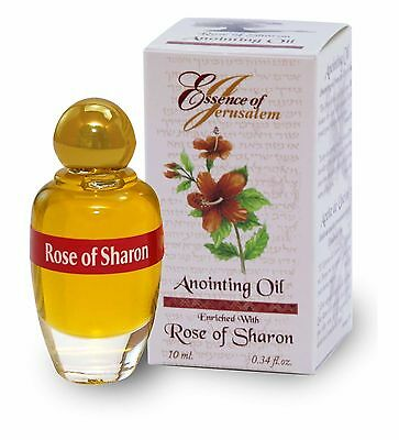 Anointing Oil Rose of Sharon  - Essence of Jerusalem (10 ml.) from Holy Land