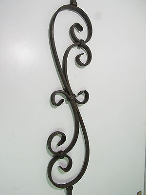 """44"""" Solid Iron Scroll Baluster Stair Rail Antique Bronze*****New*****"""